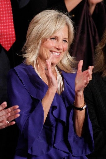 Illustration for article titled Jill Biden To Rip Space-Time Continuum On Army Wives