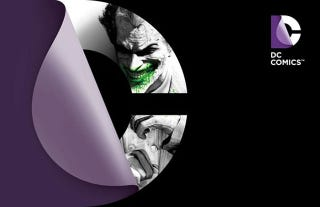 Illustration for article titled DC's New Logo Visits Arkham City