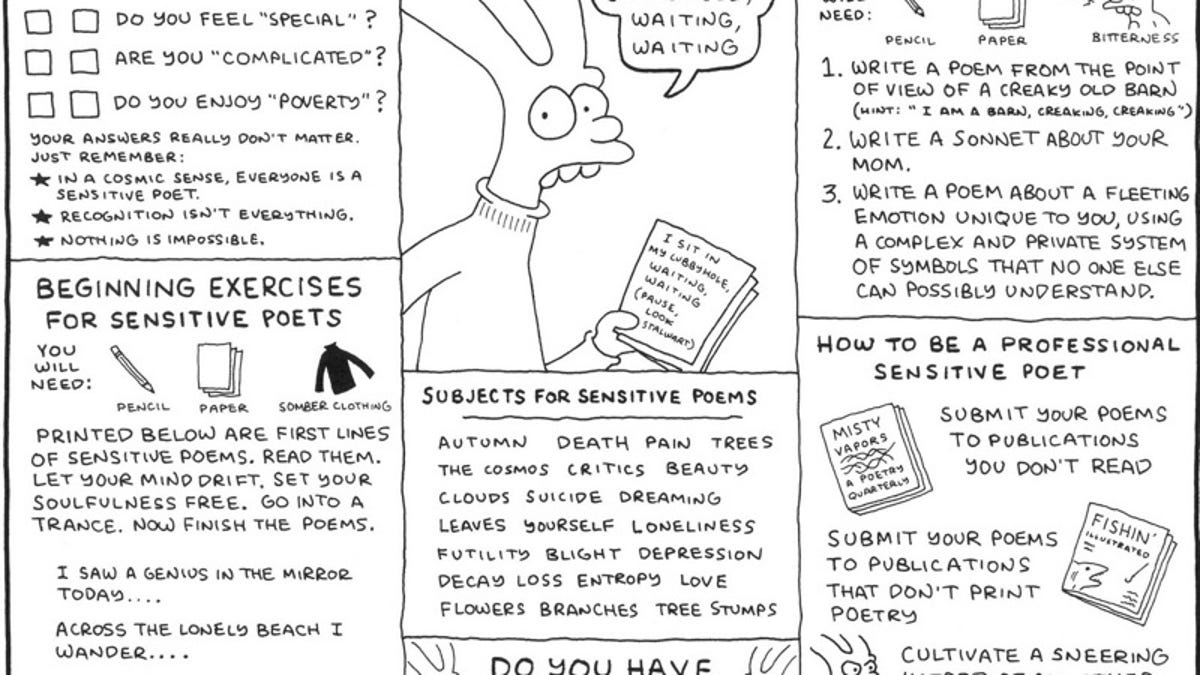 Between Zap and The Simpsons: Matt Groening's Life In Hell