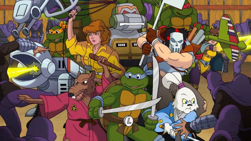 Illustration for article titled Free Teenage Mutant Ninja Turtle Game Is A Fun Throw-Back