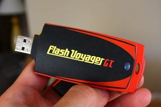 Illustration for article titled Corsair Flash Voyager 128GB USB Drive: As Big and Fast As a Small Fish