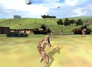 Illustration for article titled $36 Million Virtual Reality Game to Train US Soldiers