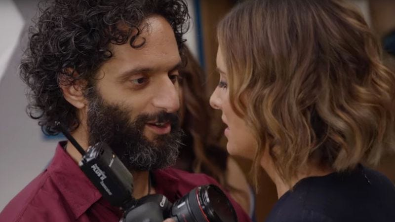 Illustration for article titled Jason Mantzoukas is a creep (in this exclusive Bajillion Dollar Propertie$ clip)