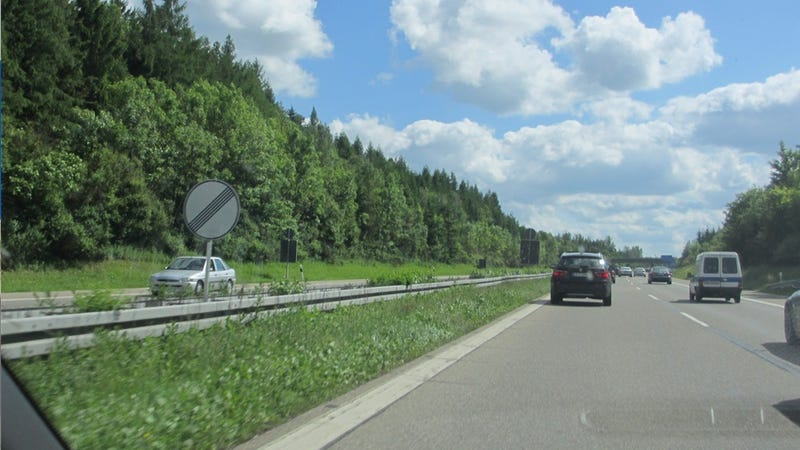 Illustration for article titled Driving ... On The Autobahn