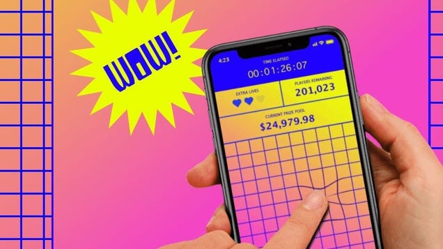 YouTuber Ends Finger on the App Competition After Contestants Last 70 Hours Trying to Win $25K