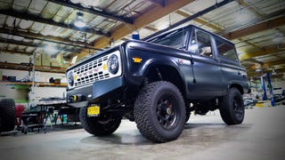 I drove this Icon Bronco...