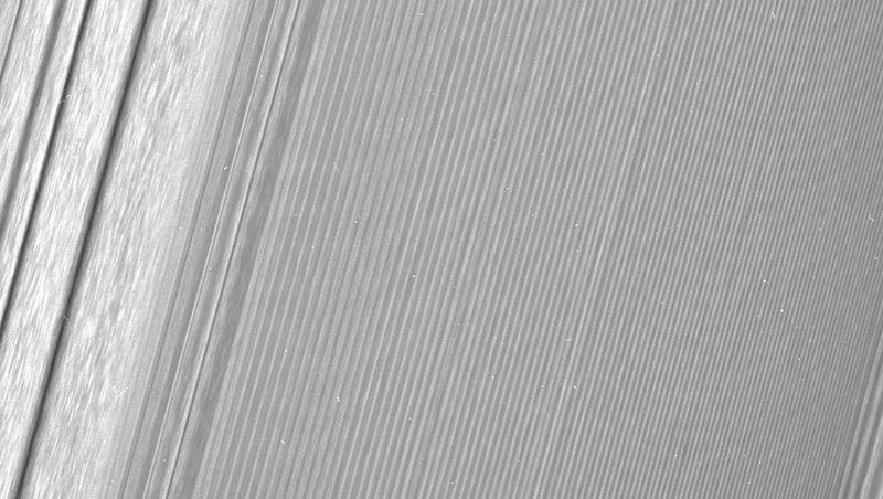 These Ultra Close-Up Images of Saturn's Rings Are Mind-Blowing