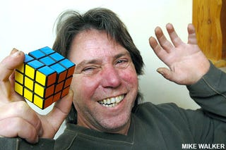 Illustration for article titled Man Solves Rubik's Cube After 26 Years of Trying, Weeps in Victory
