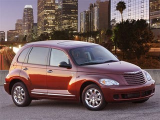 Illustration for article titled IIHS: PT Cruiser Most Dangerous New Small Car In America