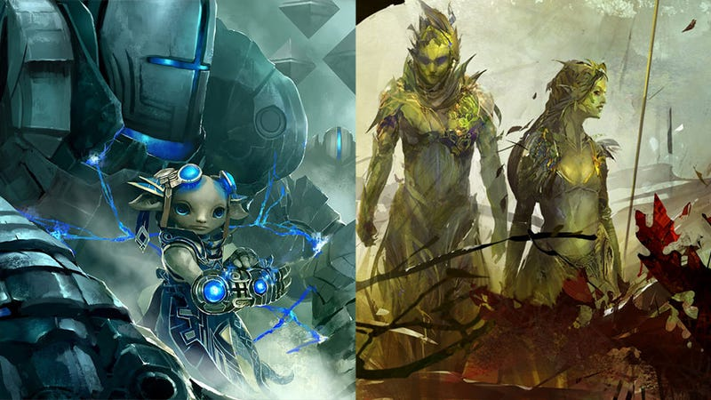 Illustration for article titled Guild Wars 2's Next Beta Weekend Brings Plant People and Tiny Little Freaks