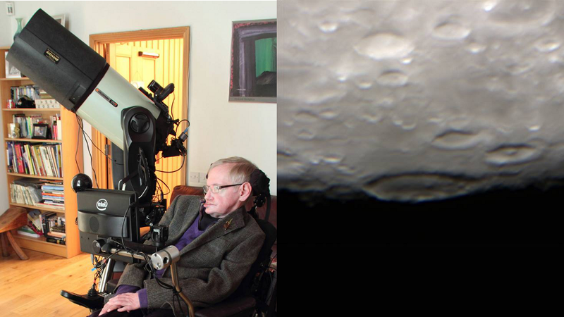 Illustration for article titled Stephen Hawking Captured These Amazing Pics With His Brand New Toy