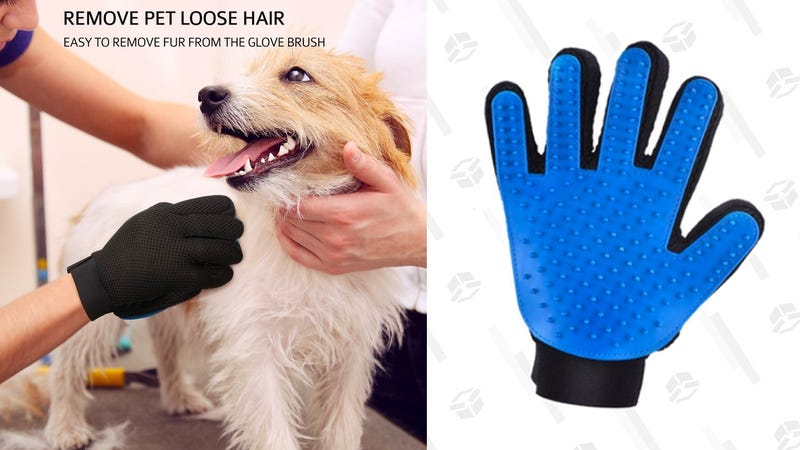 Mpow Pet Grooming Glove | $6 | Amazon | Use code  EUW8WHK7