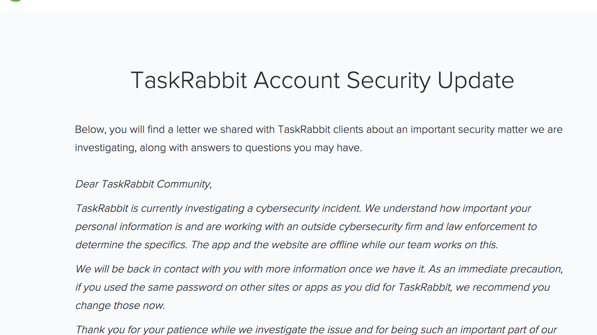 What You Need to Know About the TaskRabbit Hack