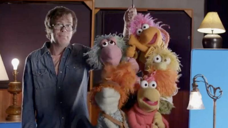 Illustration for article titled Ben Folds Five rocks out with the Fraggles