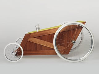 Illustration for article titled World's Most Luxurious Gravity Racer Has No Brakes, Steering