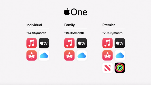 Apple Unveils Apple One and New Subscription Bundle Tiers