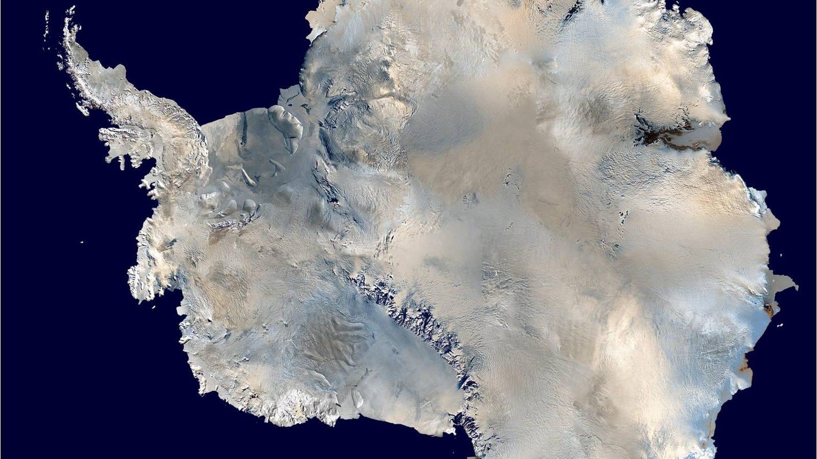 Identifican el lugar más frío de la Tierra, a -93,2 ºC