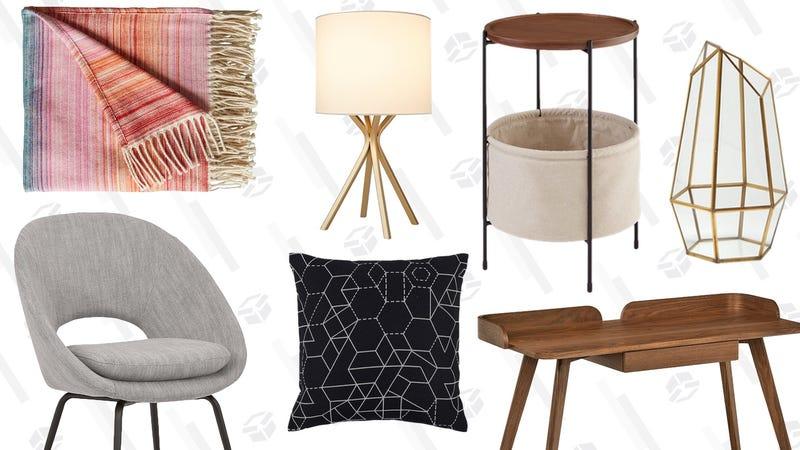 Rivet Mid-Century Modern Furniture Gold Box | Amazon