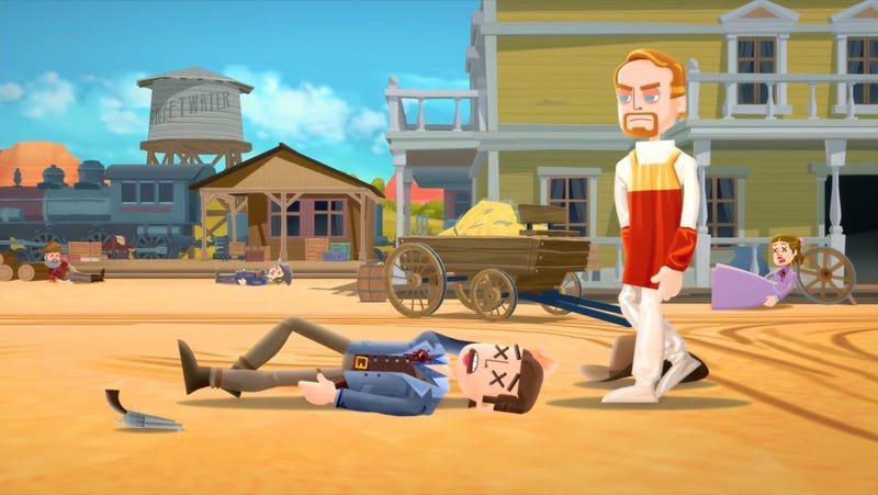 Illustration for article titled Warner Bros. copied code to build itsWestworld game, new lawsuit alleges