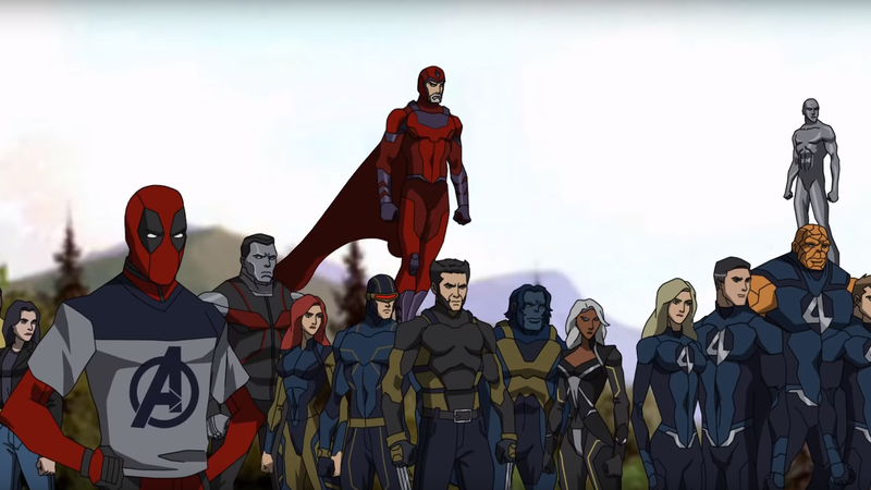 Illustration for article titled This Animated Avengers 4 Fan Trailer Turns Back the Clock