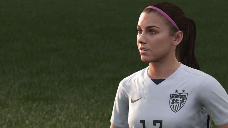 Illustration for article titled Una mujer aparecerá, por fin, en la portada de un videojuego FIFA