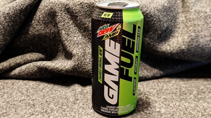 Illustration of the article titled Mountain Dew Amp Game Fuel is terrible