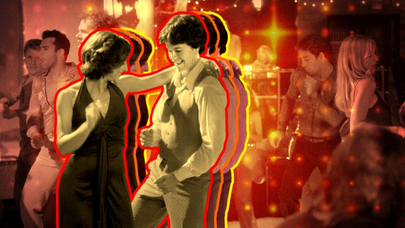Yes, a staffer came around to Boogie Nights. (Photo: Michael Ochs Archives/Getty Images. Graphic: Devin Vaughn.)