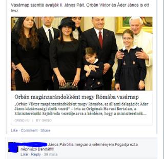 Illustration for article titled II. János Pálról is megvan a véleményem!