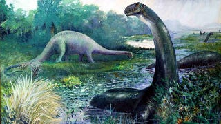 Illustration for article titled The Bitter Feud That Gave Us the Brontosaurus