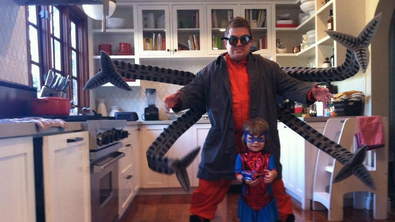 Last night Patton Oswalt tweeted a photo of his elaborate Doctor Octopus costume and yes itu0027s awesome. You probably already follow our favorite comedian ... & Hereu0027s Patton Oswaltu0027s Halloween costume