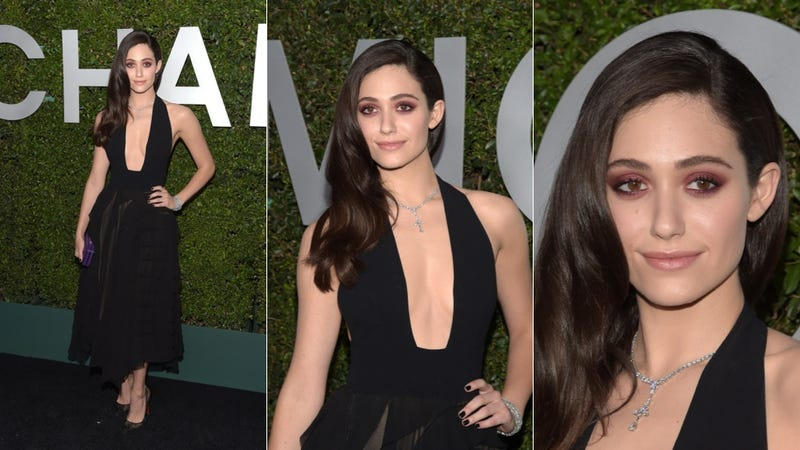 Illustration for article titled Emmy Rossum Takes the Plunge