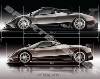 Illustration for article titled Geneva Pre-Show: Pagani Zonda R Club Racer