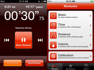 Illustration for article titled Review: Nike+ iPod Touch Workout App
