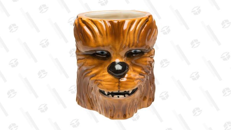Zak Designs Star Wars Chewbacca Coffee Mug | $8 | Amazon