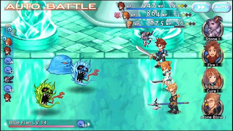 Final Fantasy Dimensions II Is Nothing Like The First