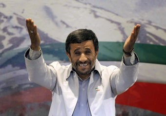 Illustration for article titled Ahmadinejad Compares Political Riots To Being Poor Sports