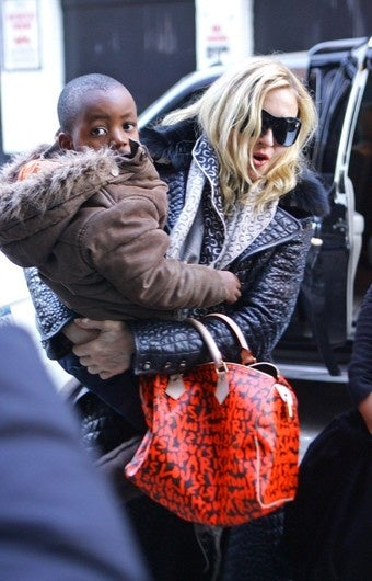 Illustration for article titled Madonna Doesn't Spend Time With Her Kids; Terrence Could Flee Prison Using Feces