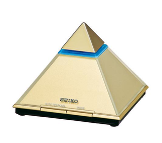 Illustration for article titled Seiko Brings Back Their Famous Talking Pyramid Clock