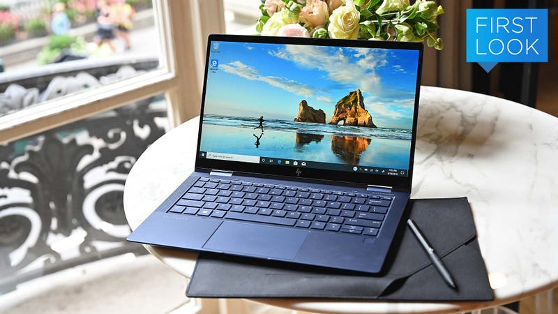 HP Is Trying to Reinvent the Business Laptop With the Elite Dragonfly