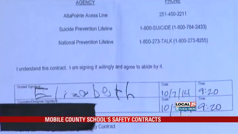 Illustration for article titled Alabama School Makes 5-Year-Old Sign Suicide/Homicide Safety Contract