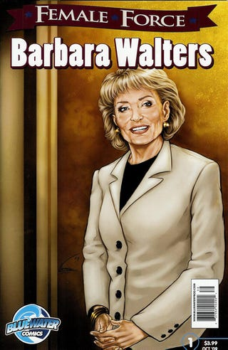 Illustration for article titled Female Force:  Barbara Walters' Comic Showdown With Rosie O'Donnell