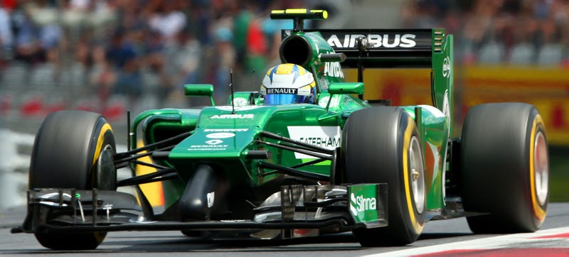 Illustration for article titled Caterham F1 Team Sold To Swiss And Middle Eastern Investors