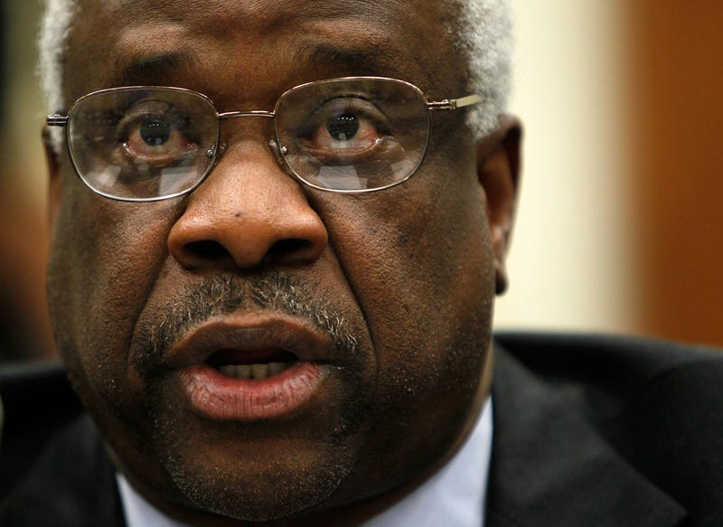 U.S. Supreme Court Justice Clarence Thomas in 2010Alex Wong/Getty Images