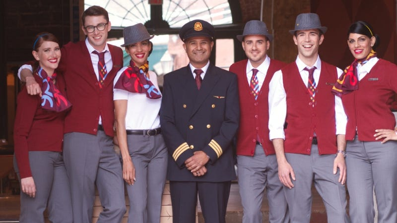Illustration for article titled FINALLY!  Airline Institutes Fedora-Clad 'Hipster' Flight Attendants