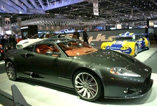 Illustration for article titled Spyker C8 Aileron To Debut At Pebble Beach, Dilute Show Even More