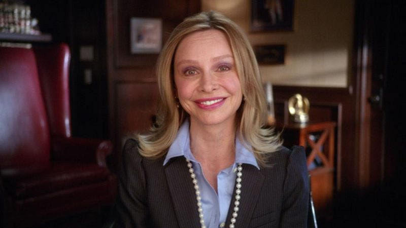 Calista Flockhart in Web Therapy