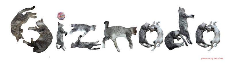 Illustration for article titled Ya puedes escribir en la mejor tipografía de Internet: la gatuna