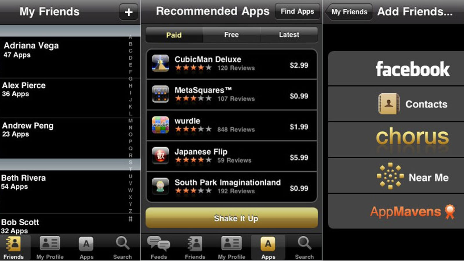 Chorus for iPhone Puts a Better App Store Inside the App Store