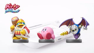 Illustration for article titled Kirby and the Rainbow Curse Amiibo Support