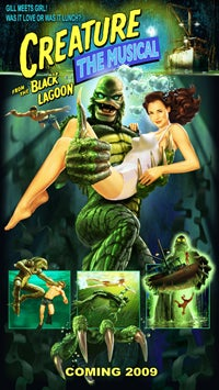 Illustration for article titled Creature From The Black Lagoon: The Musical?